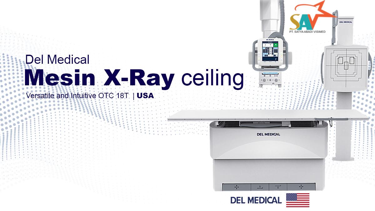 Mesin X-Ray ceiling